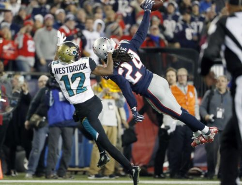 Stephon Gilmore Just Pulled a J.D. Drew