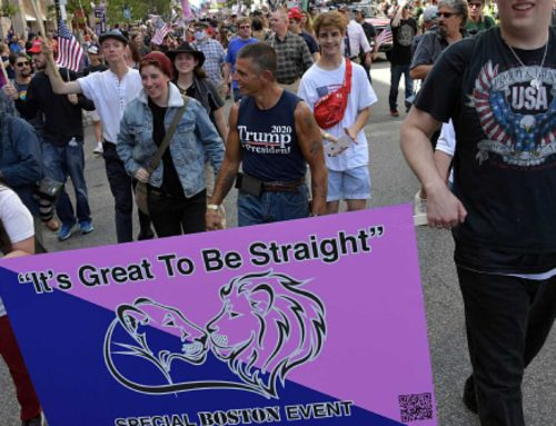 Idiots on (Straight Pride) Parade