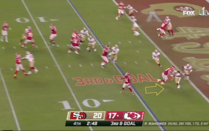 Biggest Blown Call of Super Bowl LIV