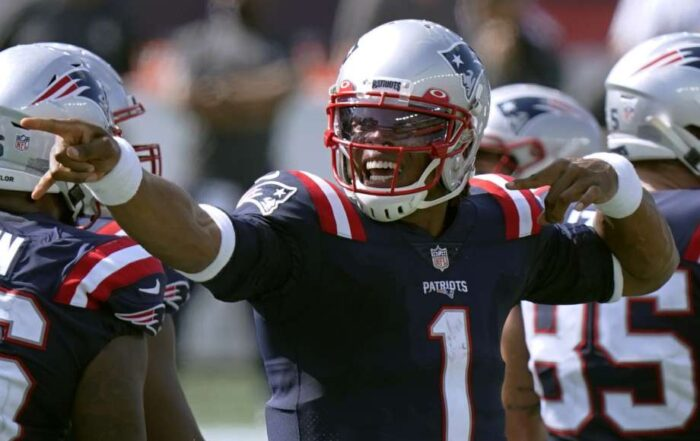 """Cam Newton is at the head of a brand new, and fun era of Patriots Fandom (Picture Courtesy """"Seattle PI"""")"""