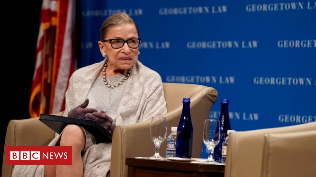 Ruth Bader Ginsburg (Picture courtesy BBC News)