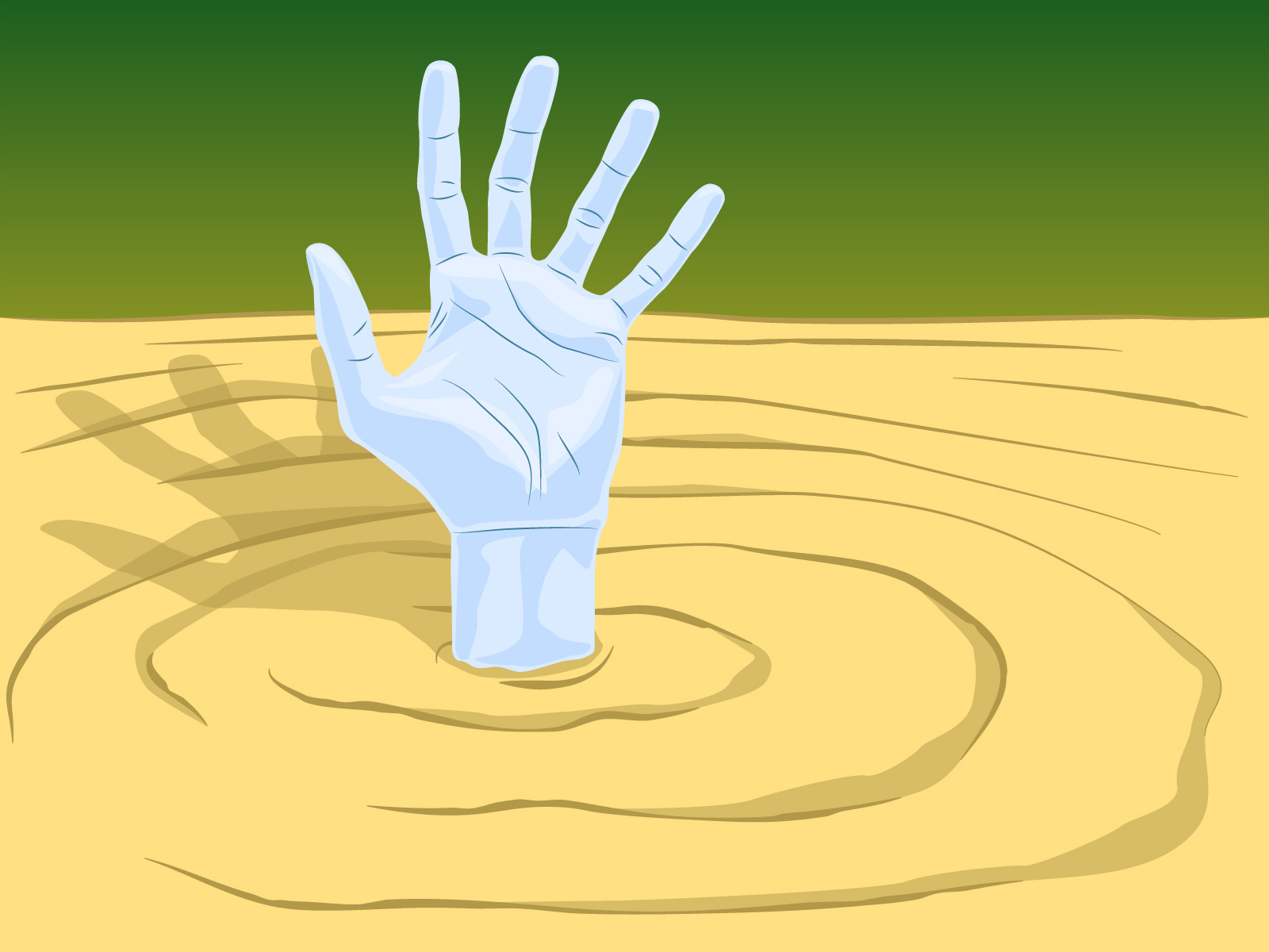 """Quicksand (From Britannica's """"How Dangerous is Quicksand"""" article)"""