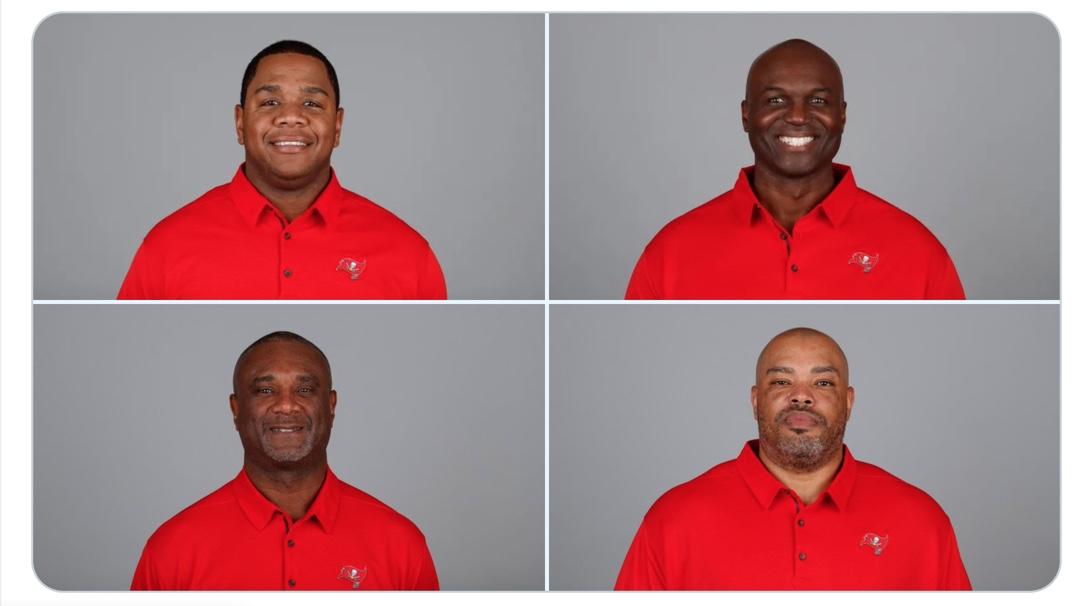 The Bucs Coordinators (https://twitter.com/dsmithreport/status/1353487346050736129)