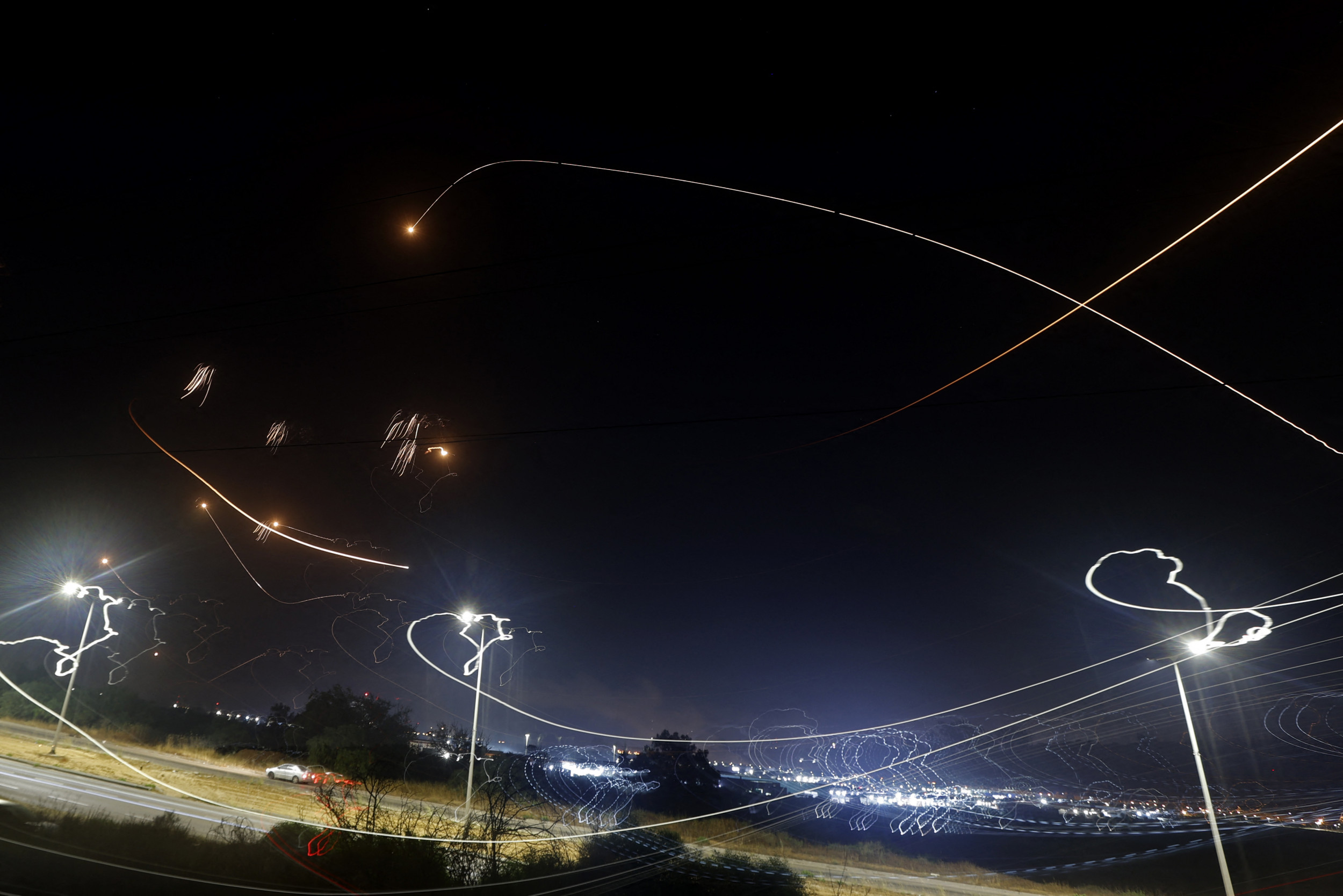 Rockets Rain Down on Israel--May 2021 (From Newseek: https://www.newsweek.com/us-condemns-rocket-strikes-israel-middle-east-rallies-around-palestinians-1590206)