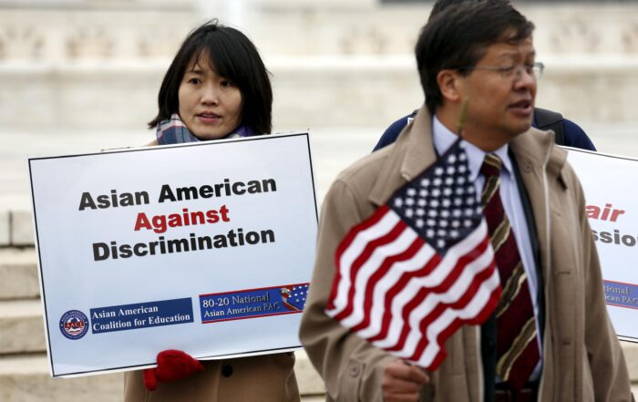Asian American Approved Discrimination (Photo Taken From Insider Business Times: https://www.ibtimes.com/justice-department-backs-claim-harvard-discriminates-against-asian-americans-2712825)